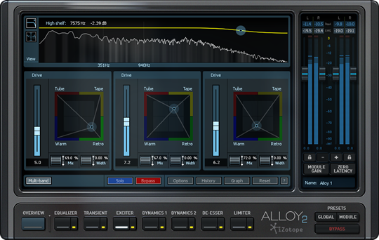 Mixing With Logic Pro X & iZotope Alloy 2
