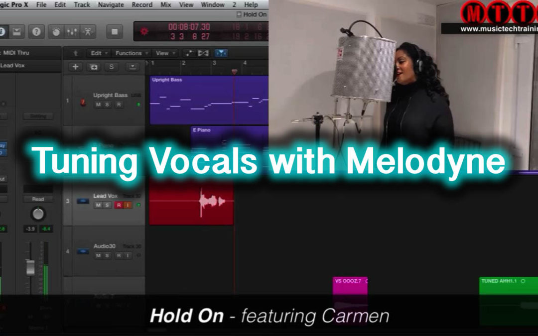 Tuning Vocals With Melodyne