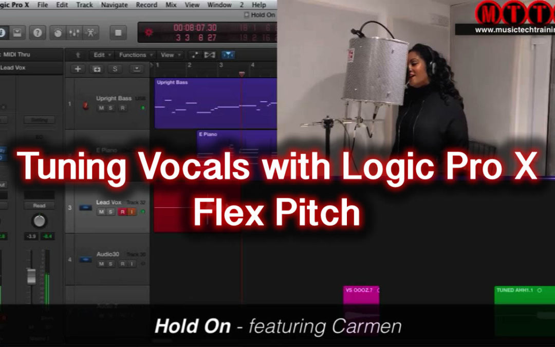 Tuning Vocals With Logic Flex Pitch