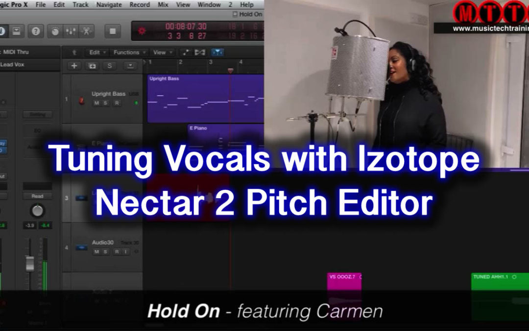 Tuning Vocals With Nectar Pitch Editor