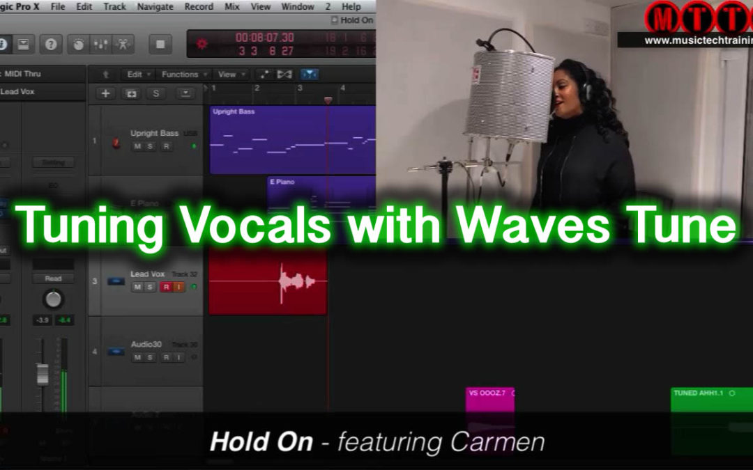 Tuning Vocals With Waves Tune