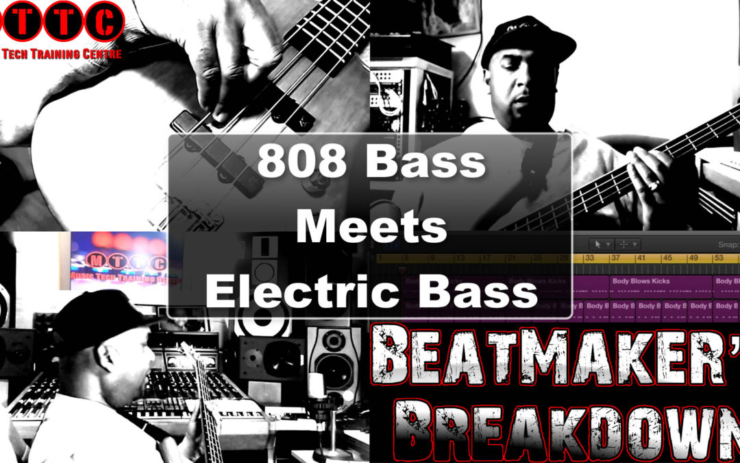 808 Bass Meets Electric Bass in Logic Pro X