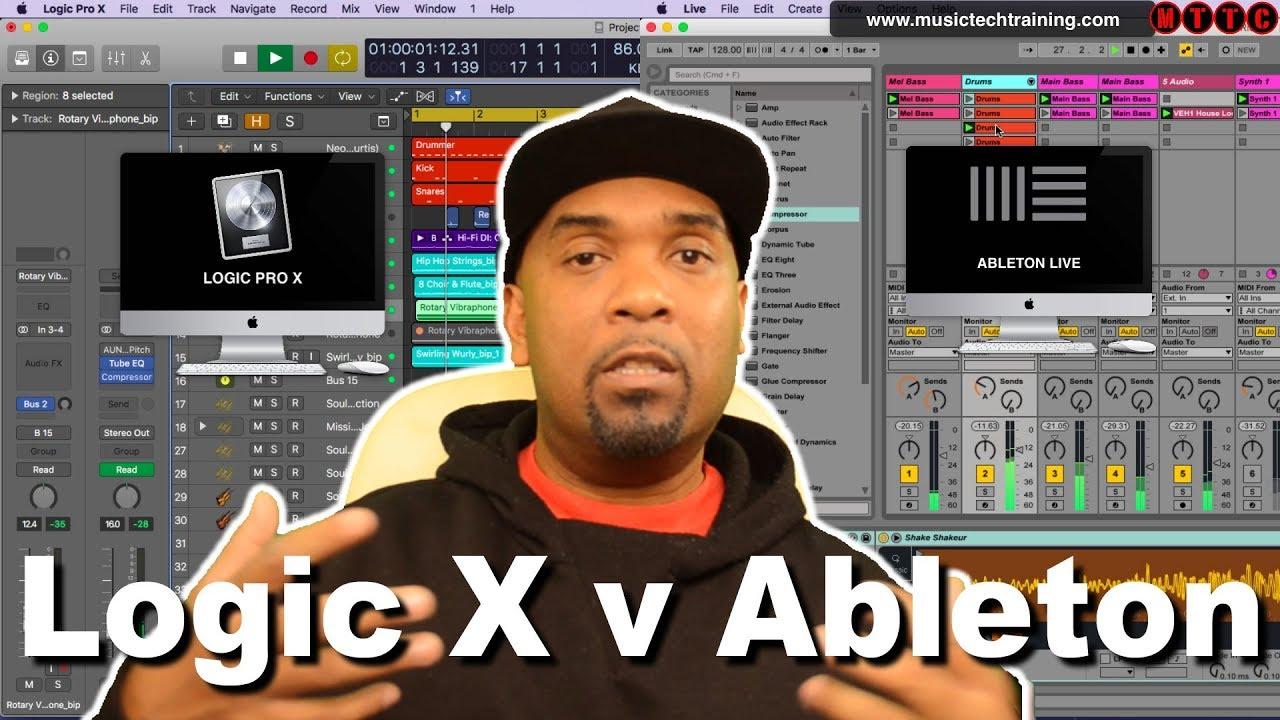 Logic Pro X vs Ableton Live